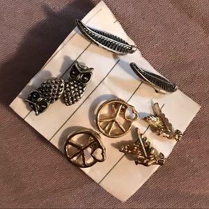 Earrings- $3 pair, or 2 pairs for $5